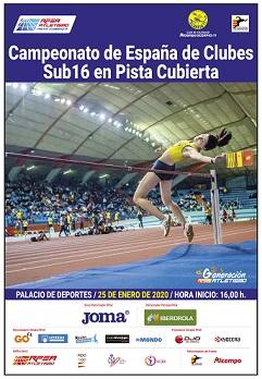 Todos con nuestros Equipos en el Campeonato de España de Clubes Sub16 de Pista Cubierta