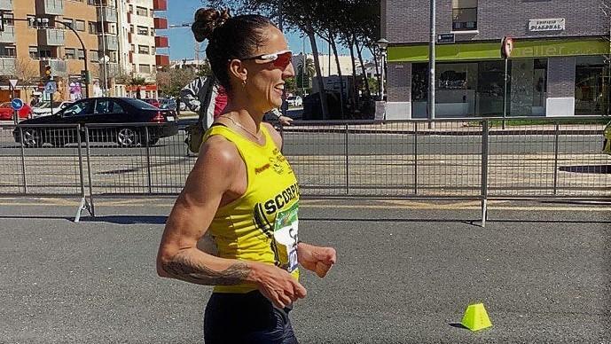 Ainhoa Pinedo sexta de España en el Campeonato Absoluto de 20 km Marcha