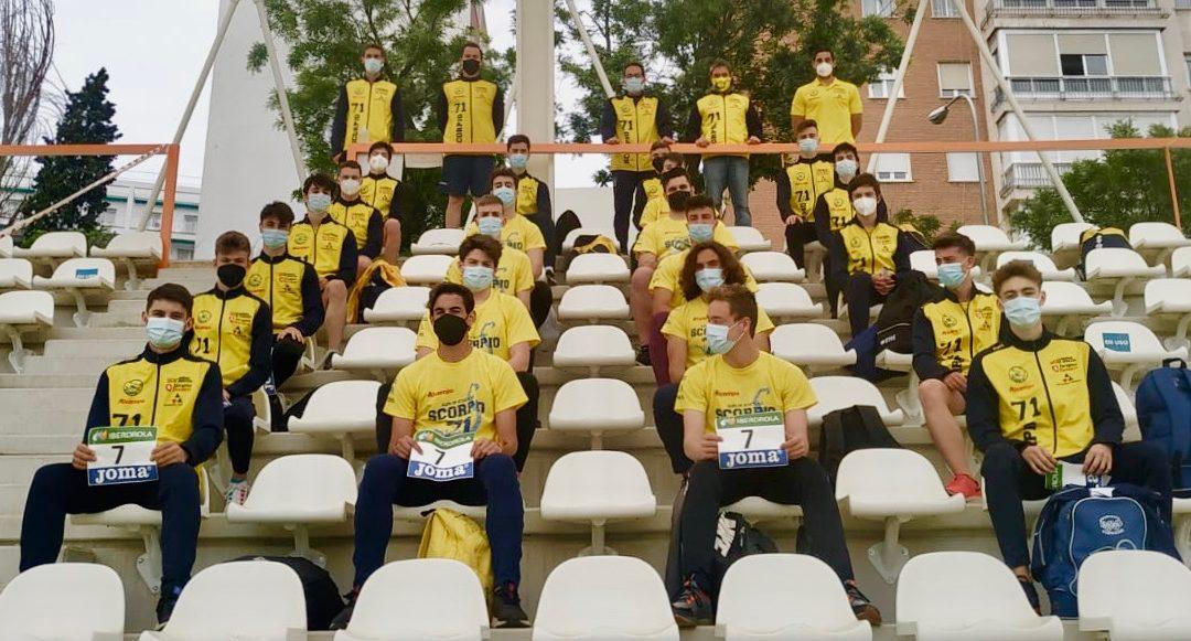 Séptimo puesto para ALCAMPO-Scorpio71 en el Campeonato de España de Clubes sub 20